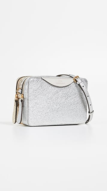 Anya Hindmarch Stack Double Wallet on Strap