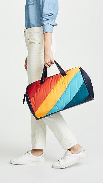 Anya Hindmarch Barrel Stripes Duffel Bag