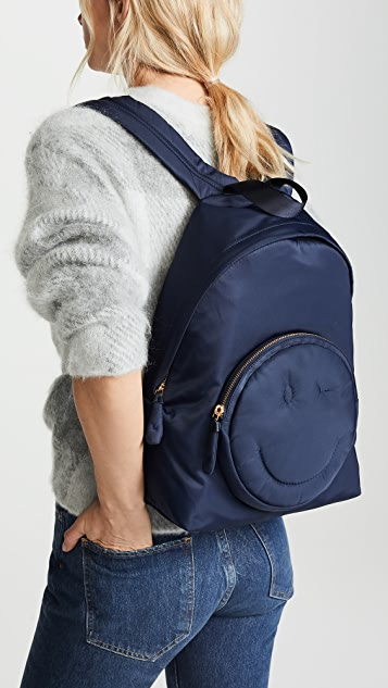 Anya Hindmarch Wink Chubby Nylon Backpack