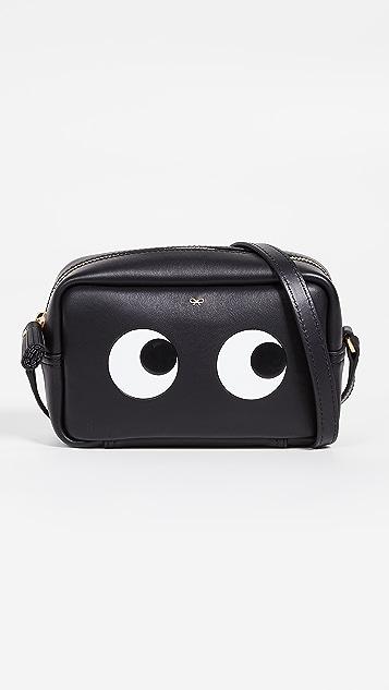 Anya Hindmarch Mini Eyes Right Crossbody Bag
