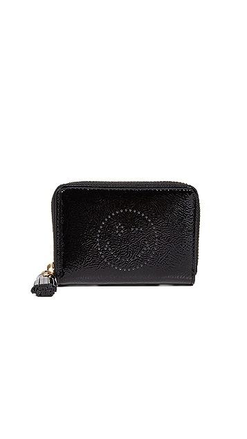 Anya Hindmarch Small Zip Around Wink Wallet