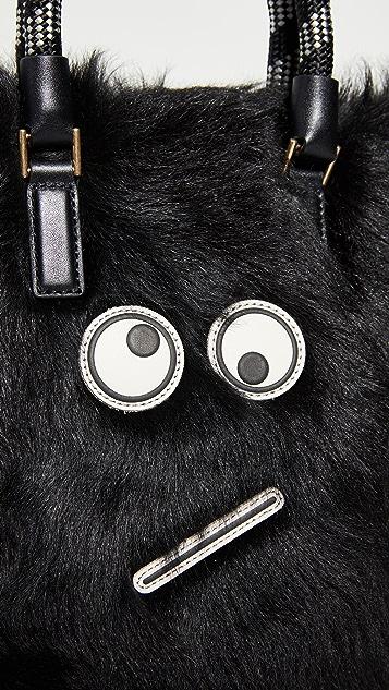 Anya Hindmarch Small Amused Face Tote Bag