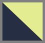 海滨蓝/荧光黄色