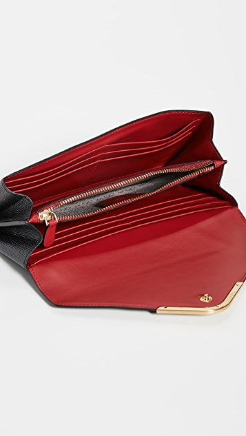 Anya Hindmarch Postbox Continental Wallet