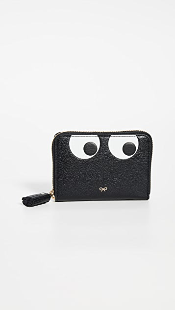 Eyes Small Zip Around Wallet by Anya Hindmarch