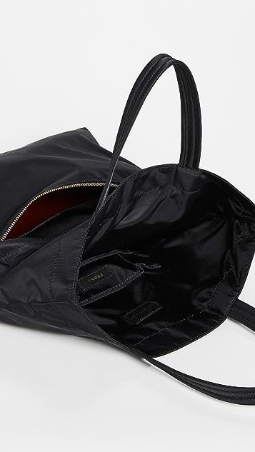 Anya Hindmarch Объемная сумка с короткими ручками Eyes