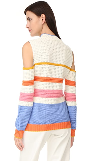Anna October Striped Sweater