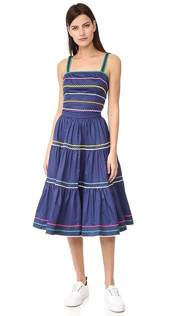 Anna October Striped Skirt