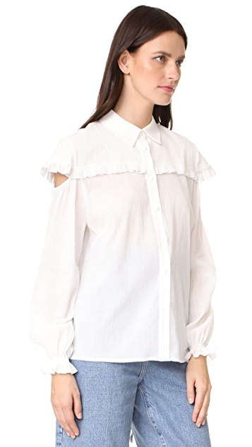 Anna October Ruffled Blouse
