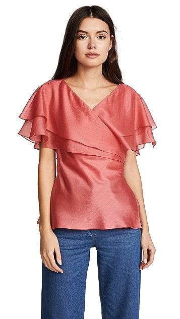 Anna October Pelerine blouse