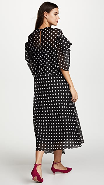 Anna October Polka Dot Dress