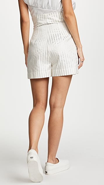 Anna October Striped Shorts