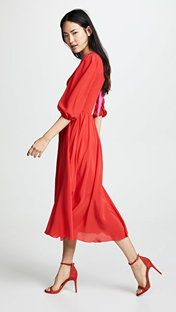 Anna October Puff Sleeve Dress