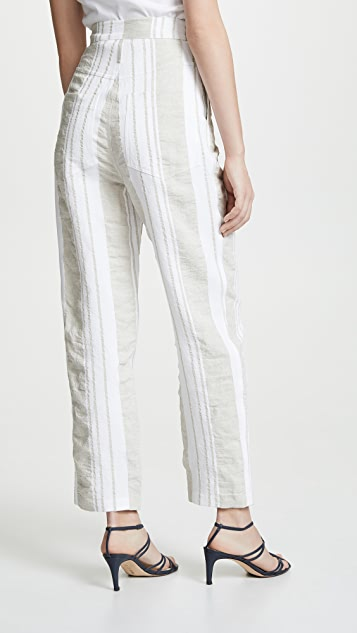 Anna October Soft Stripe Pants