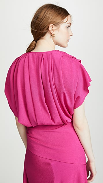 Anna October Pleated Top