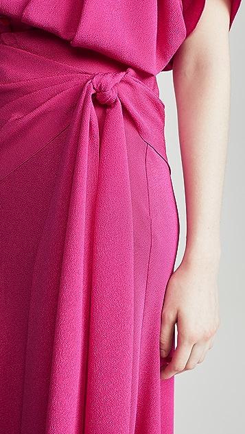 Anna October Миди-юбка с завязками на талии
