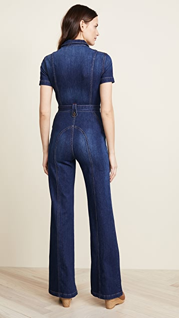AO.LA by alice + olivia Wide Leg Jumpsuit