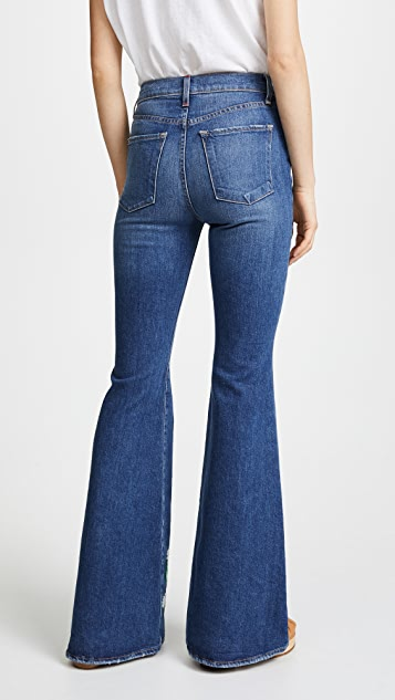 AO.LA by alice + olivia Beautiful High Bell Jeans