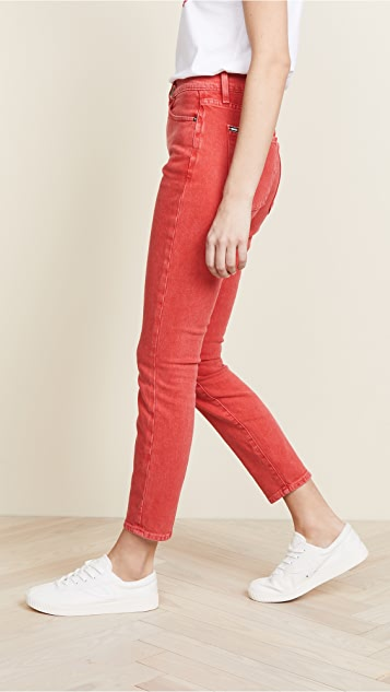 AO.LA by alice + olivia Good High Rise Ankle Skinny Jeans