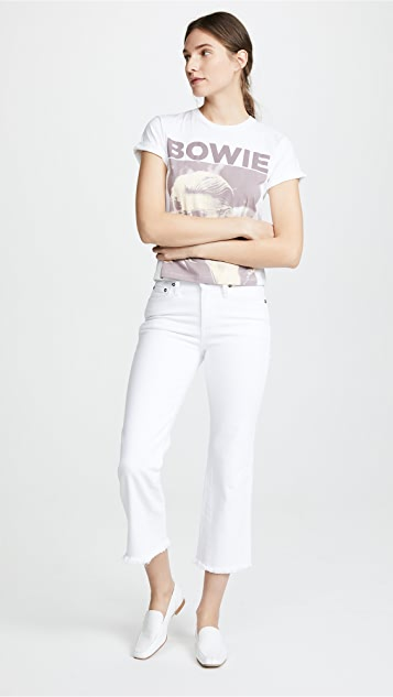 ALICE + OLIVIA JEANS Perfect Cropped Kick Jeans