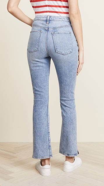 AO.LA by alice + olivia High Rise Baby Boot Jeans