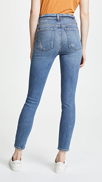 AO.LA by alice + olivia High Rise Button Fly Jeans