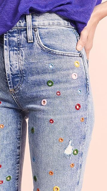 AO.LA by alice + olivia Girlfriend Jeans