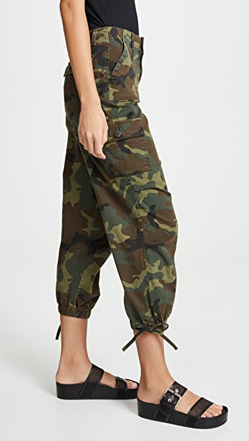 ALICE + OLIVIA JEANS High Waist Cargo Pants