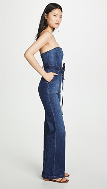 ALICE + OLIVIA JEANS Gorgeous Susy Jumpsuit