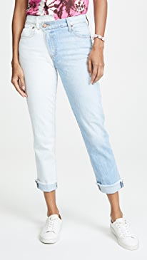 Amazing Asymm Slim Straight Jeans
