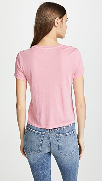 ALICE + OLIVIA JEANS Cicely Classic Tee