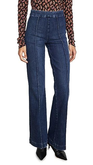ALICE + OLIVIA JEANS Jalisa Trouser Jeans