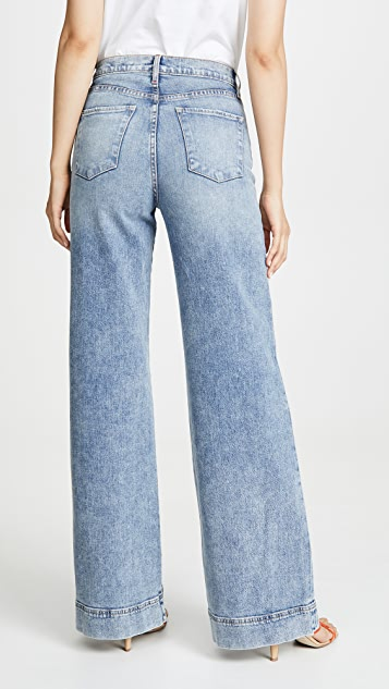 ALICE + OLIVIA JEANS Gorgeous Trouser Jeans