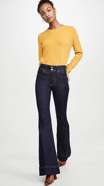 ALICE + OLIVIA JEANS Beautiful 高腰牛仔裤