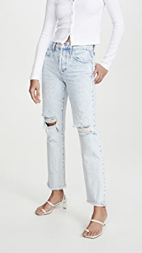 Amazing High Rise Boyfriend Jeans