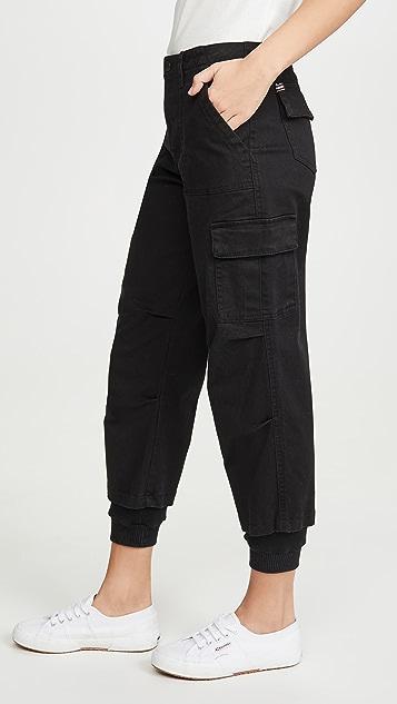 ALICE + OLIVIA JEANS 工装裤