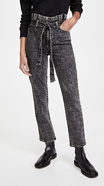 ALICE + OLIVIA JEANS Amazing Paperbag Girlriend Jeans