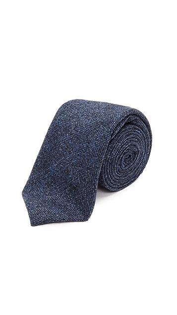 Alexander Olch The Gable Wool Herringbone Tie