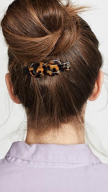 Alexandre de Paris Заколка для волос с перекрученным узлом