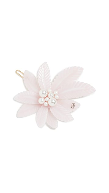 Alexandre de Paris Imitation Pearl Tropical Barrette