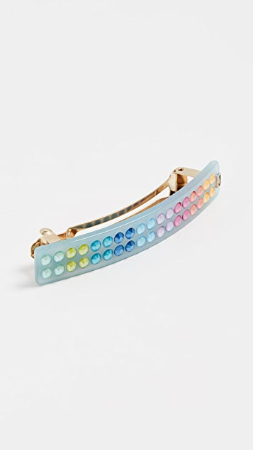 Alexandre de Paris Candy Color Barrette - Bleu
