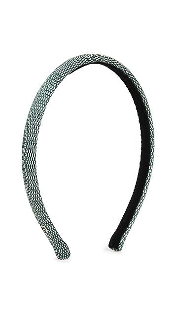 Alexandre de Paris Green Headband