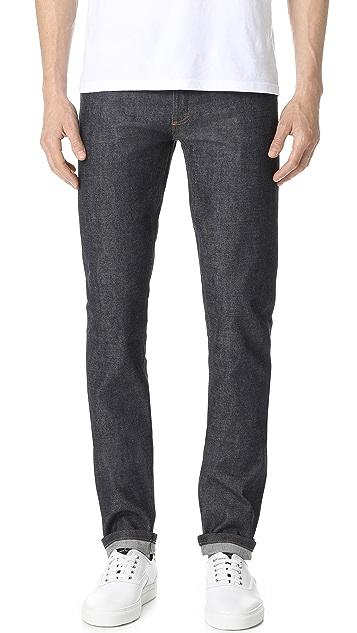 a p c petit standard indigo jeans east dane use code ednc18 for 15 off. Black Bedroom Furniture Sets. Home Design Ideas