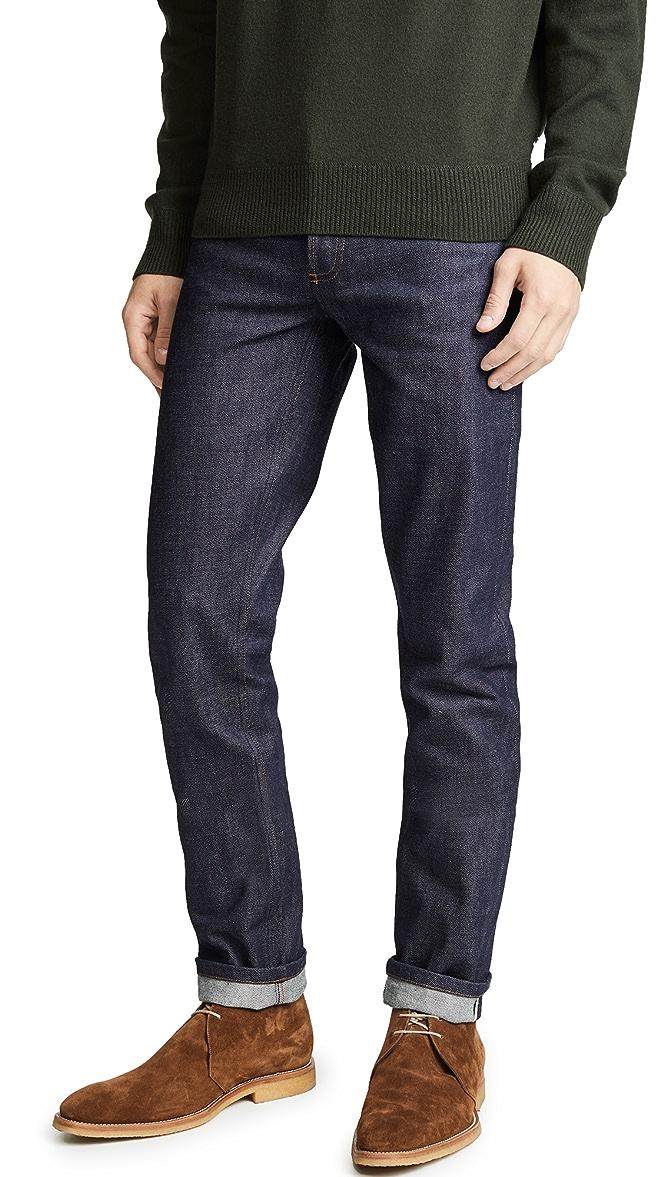 A P C Petit Standard Indigo Jeans East Dane