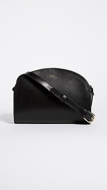 A.P.C. Half Moon Bag - Black