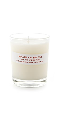 A.P.C. - Bougie No. 6 Encens Scented Candle