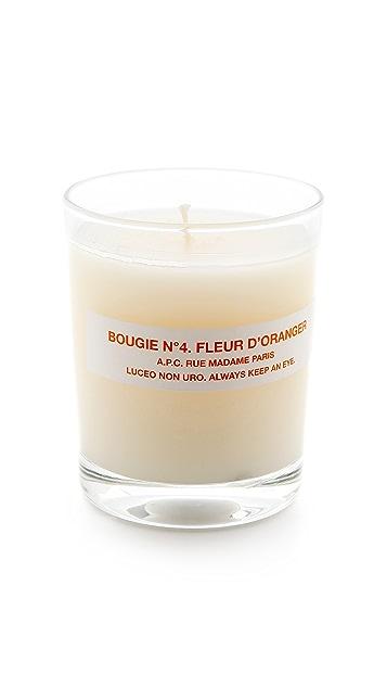 A.P.C. Fleur d'Oranger Scented Candle