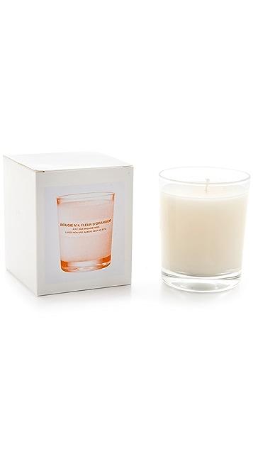 A.P.C. Bougie No. 4 Fleur d'Oranger Scented Candle