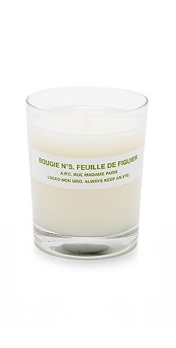 A.P.C. - Bougie No. 5 Feuille de Figuier Scented Candle
