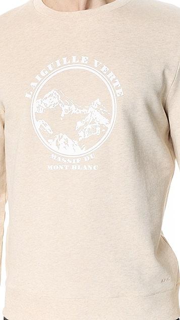 A.P.C. Aiguille Verte Sweatshirt